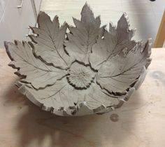Press Mold Ceramic Leaves