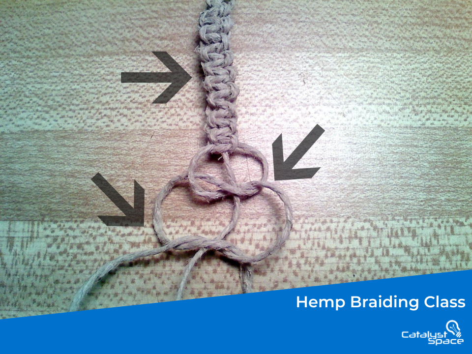 Hemp Rope Braiding Pattern Series – Square Flat Knot