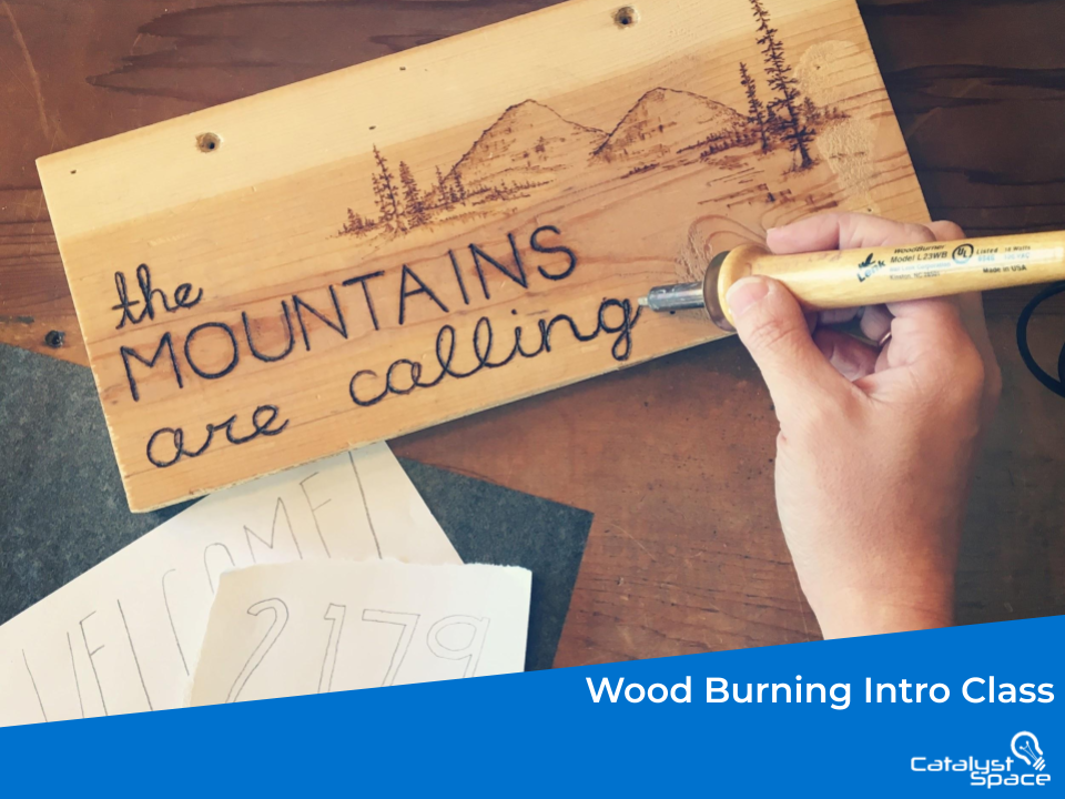 Main Photo For the Intro To Wood Burning Class