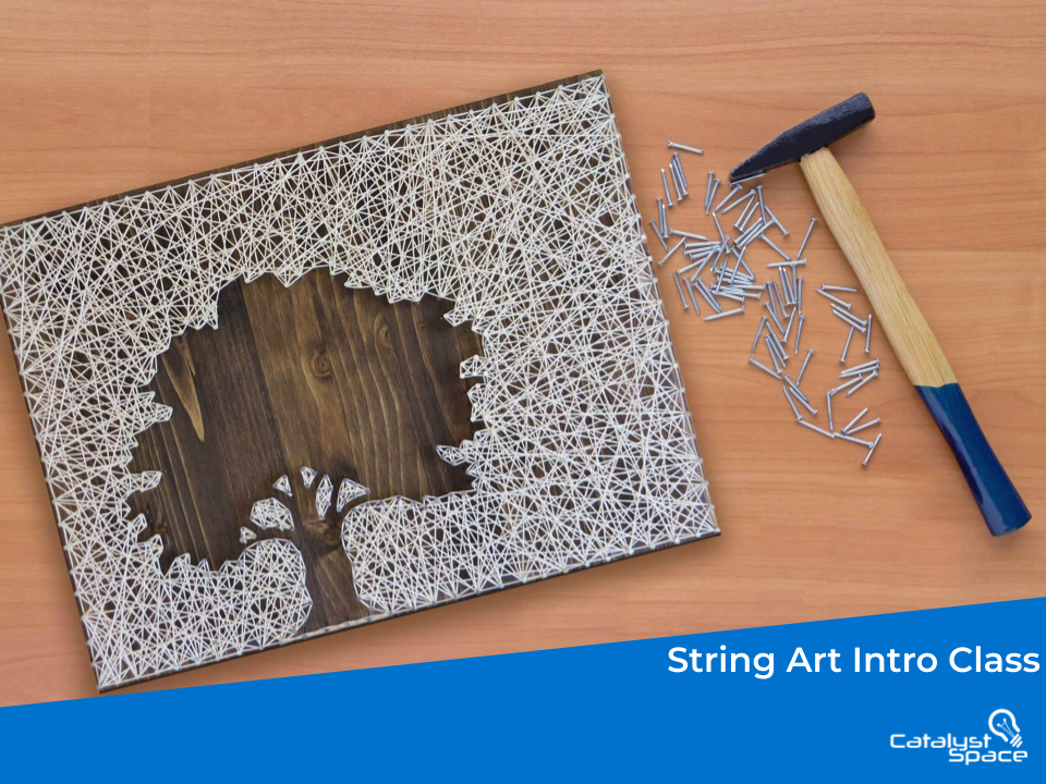 String Art Craft Class in Altoona PA