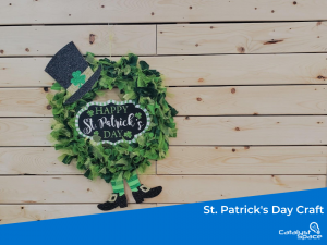 St. Patrick's Day Craft Wreath Cover Photo
