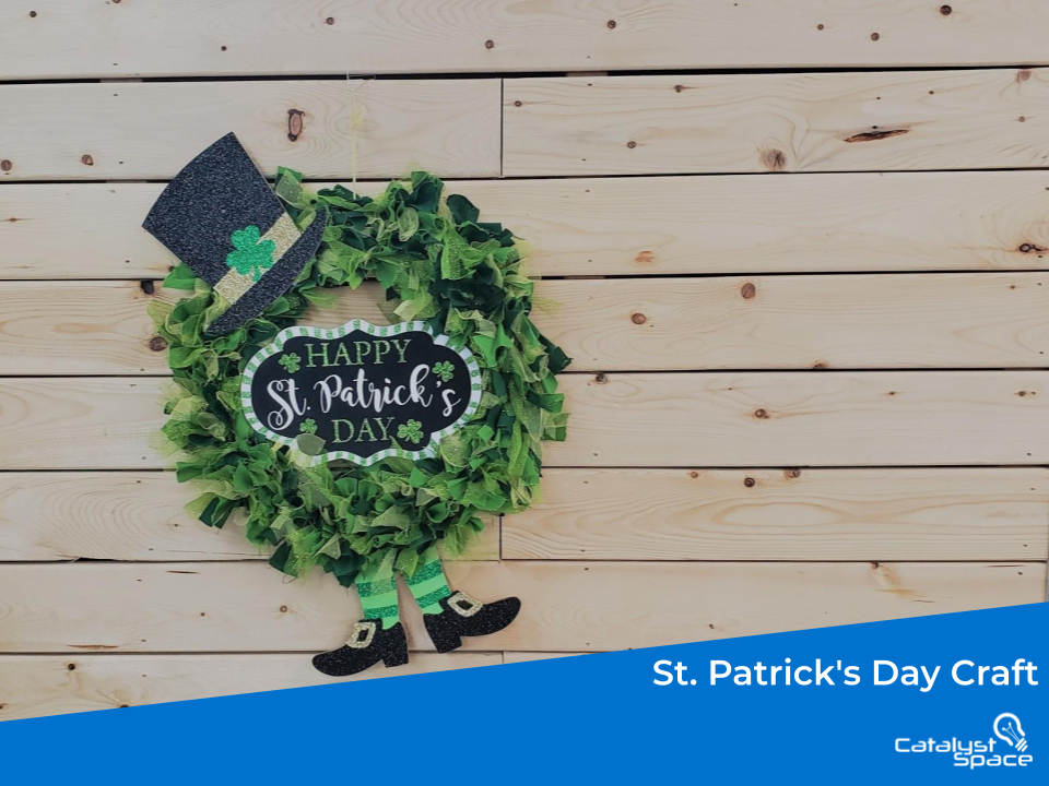 St. Patrick's Day Craft D.I.Y. Wreath