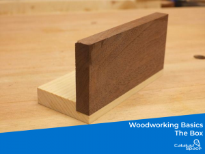 For almost every woodworking project knowing how to build the humble box is very important. The rabbit joint is a simple but yet versatile joint.