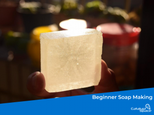 Soap making is a rewarding process which leaves you with a product you can use many times.